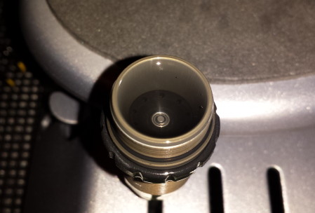 OLD SHOCK OIL = CRYSTAL CLEAR