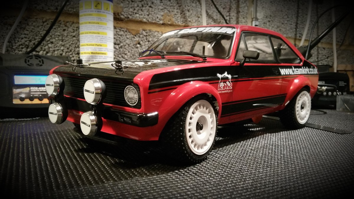 1/10 RC RALLY CAR – MK2 Escort Build | TEAM KIRK RC